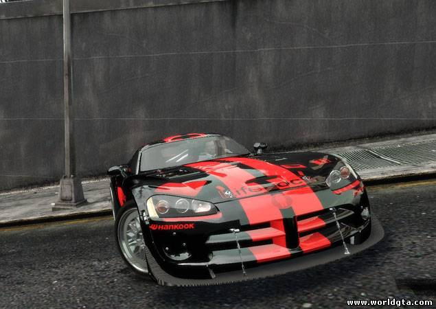 Dodge Viper Competition Coupe для GTA 4, скачать