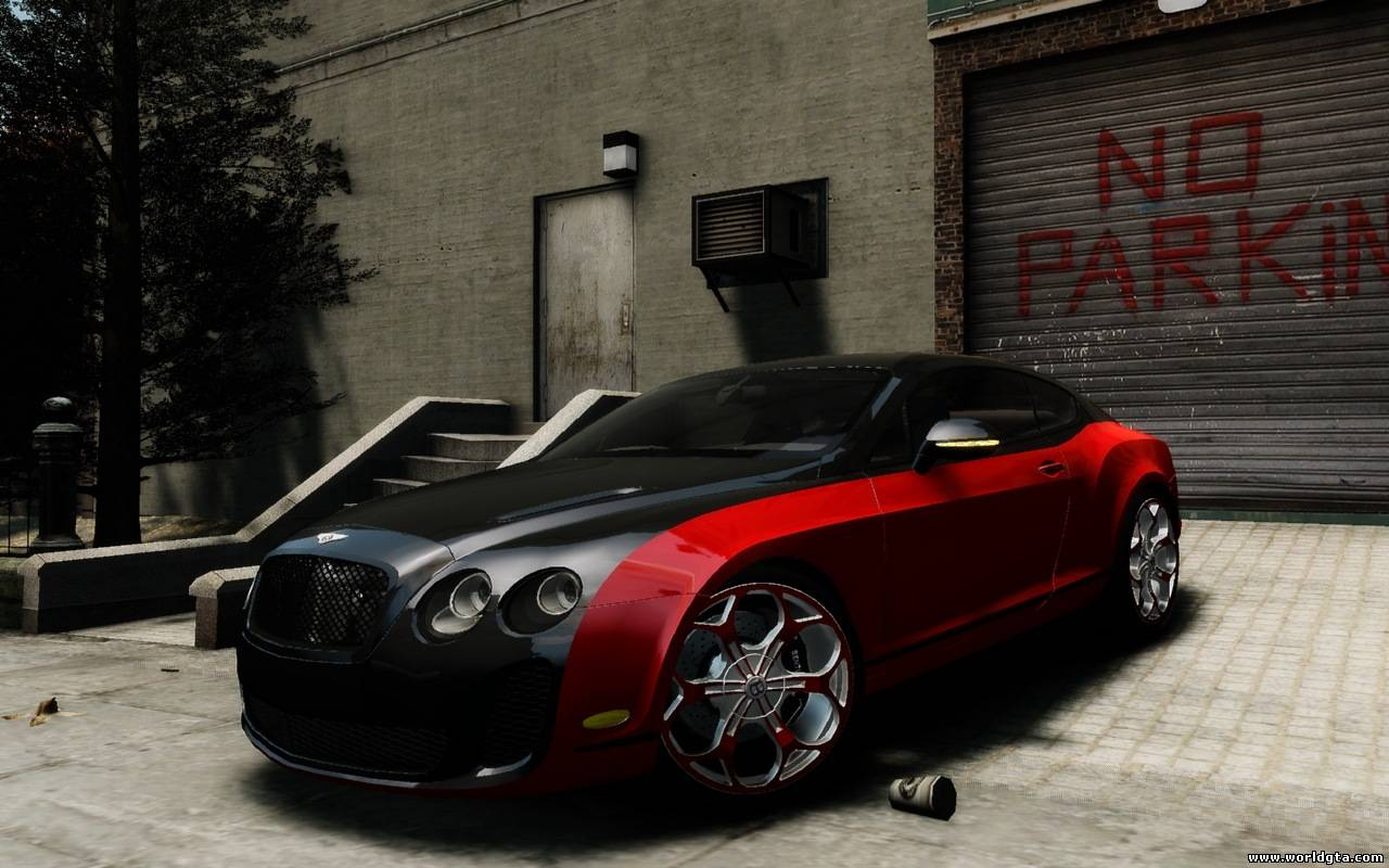 Bentley Continental SS MansorY для GTA 4, скачать