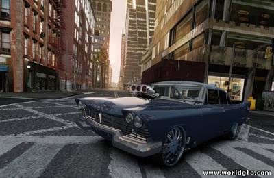Plymouth Savoy Club Sedan '1957 Dragster [final] для GTA 4